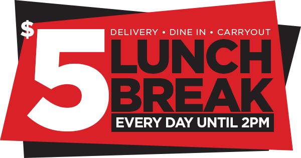Five Buck Lunch Badge