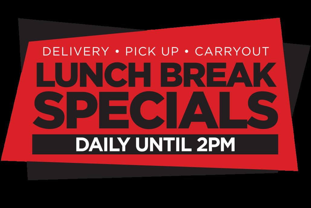 Scratch Pizza Daily Lunch Break Specials